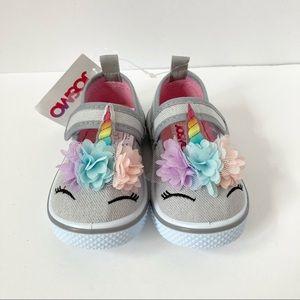 Josmo Unicorn Maryjane Style Velcro Sneaker